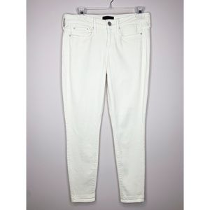 Vince Dylan Skinny Ankle Jeans in Buttercup